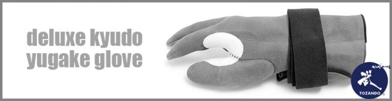 Deluxe Kyudo Yugake Glove