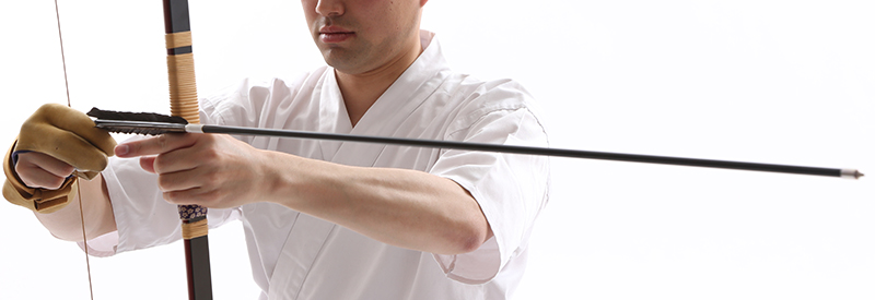 Kyudo Yatsugae arrow setting