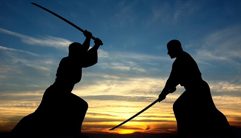 Kenjutsu in the mornining