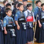 For the children who carry the future of Kendo on their shoulders