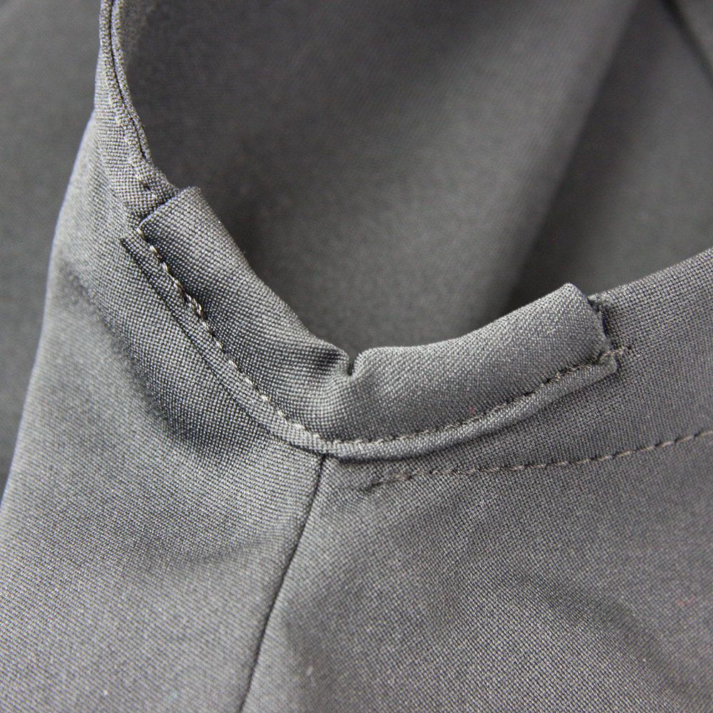 "side slit reinforcement on Tozando Deluxe Polyester Aikido Hakama ""UME"""