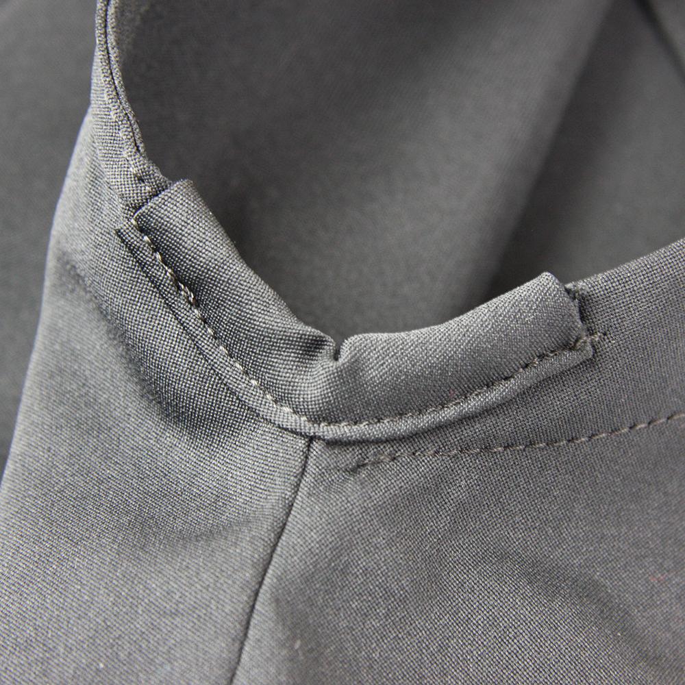 "side slit reinforcement on Tozando Deluxe Polyester Aikido Hakama ""UME"""