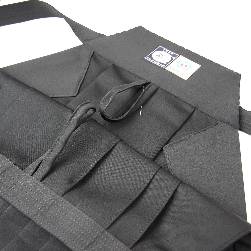 "Loops for hang drying on Tozando Deluxe Polyester Aikido Hakama ""UME"" AH500 model Hakama"