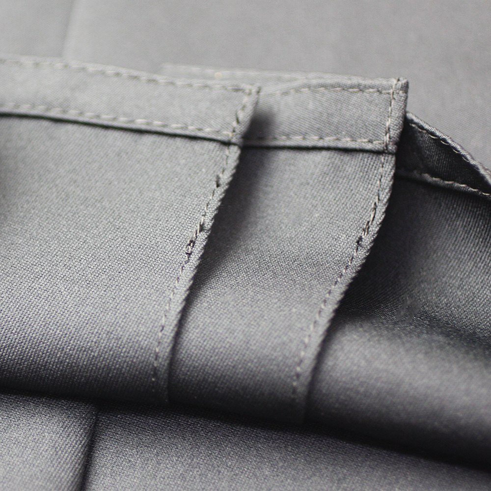 "Inner-stitched pleats of Tozando Deluxe Polyester Aikido Hakama ""UME"""