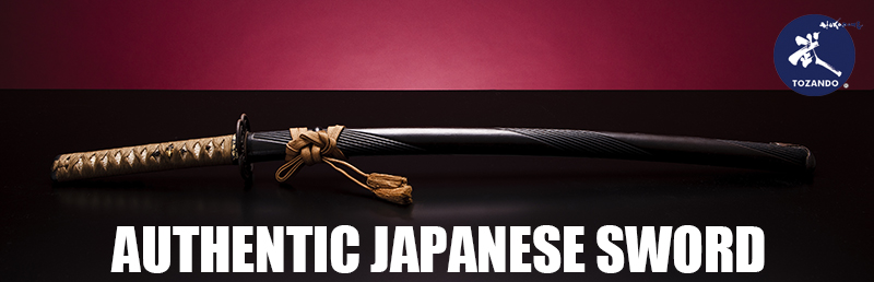 Tozando Authentic Japanese Sword