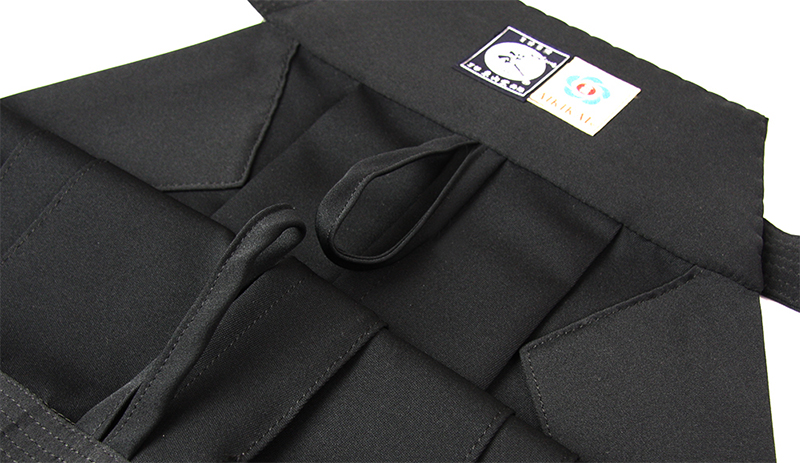 Tozando Deluxe Polyester Aikido Hakama AH500 features two loops for easily hang drying your Hakama