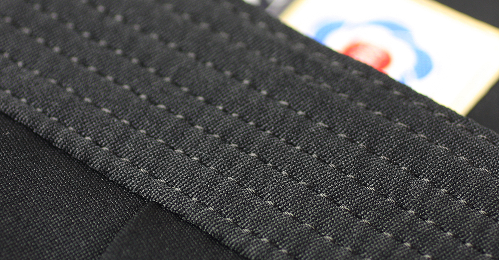 7-lines of stitching provides better durability and when tied will not loosen up very easily