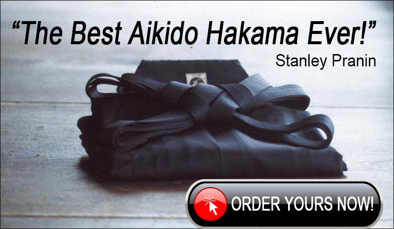 Order your Tozando AH500 Aikido Hakama now!