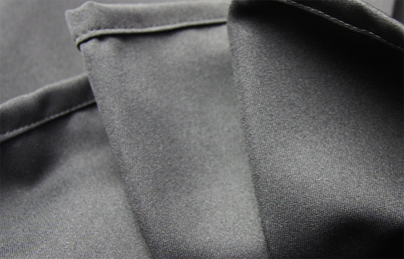 Inner pleats of the generic Aikido Hakama, which does not come with inner-stitched pleats by default