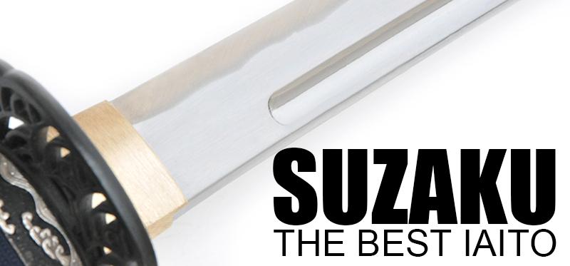 The Suzaku Iaito - feels like an actual shinken.