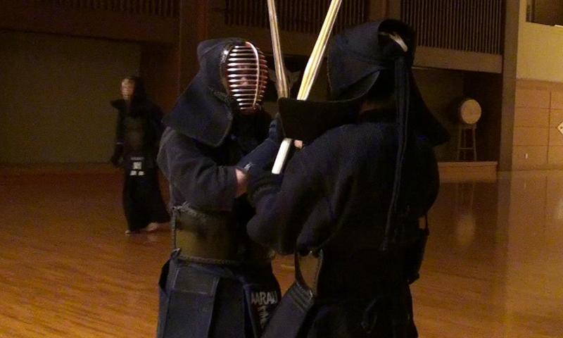 Veronika having Keiko with Tozando Kendo team
