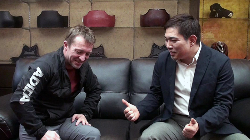 Takahiro Hayashi and Alex Bennett talk about Kendo