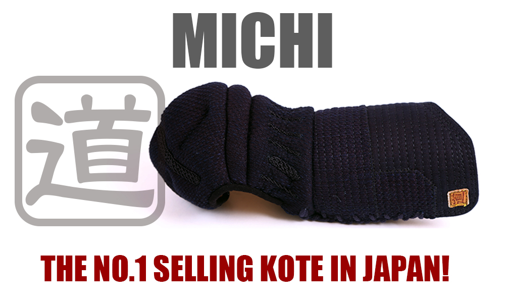 MICHI - No. 1 Selling Kendo Kote in Japan