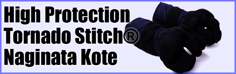 High Protection Tornado Stitch® Naginata Kote