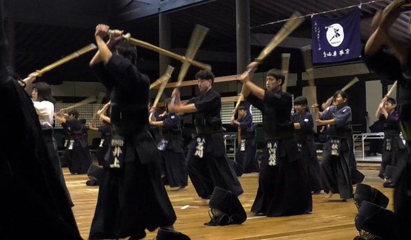 Kendo Suburi Keiko at Kyoto Butokuden