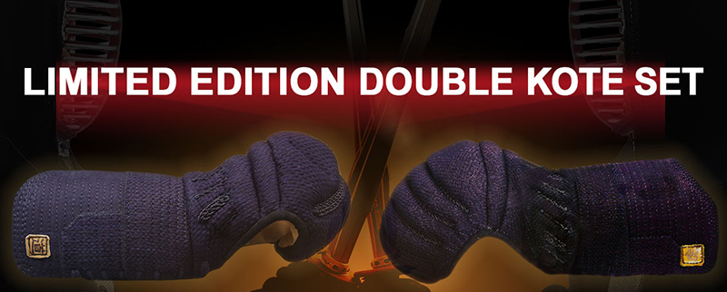 Limited Edition Double Kote Set - Tora and Michi