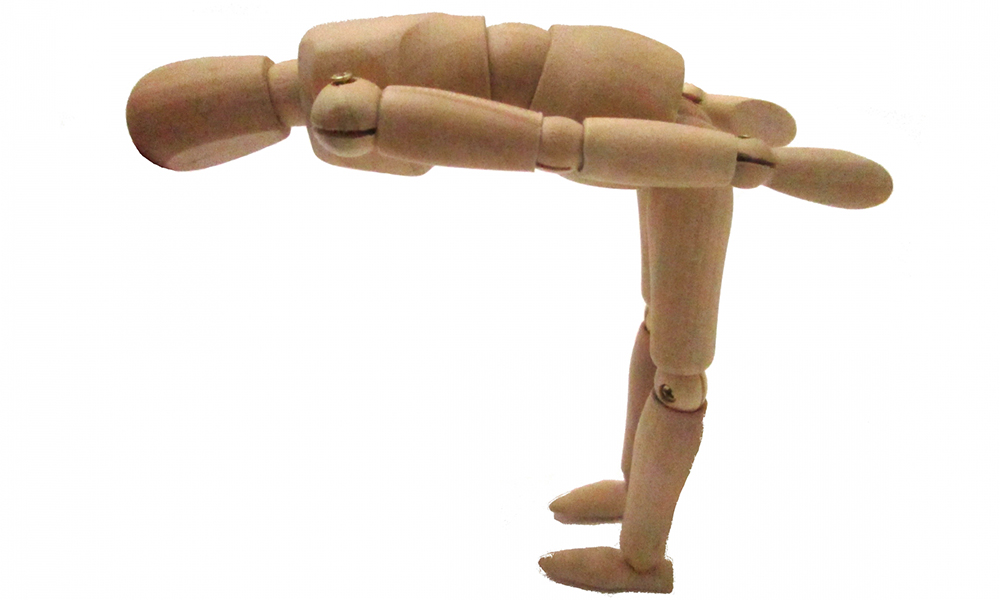 Image of a bowing dummy