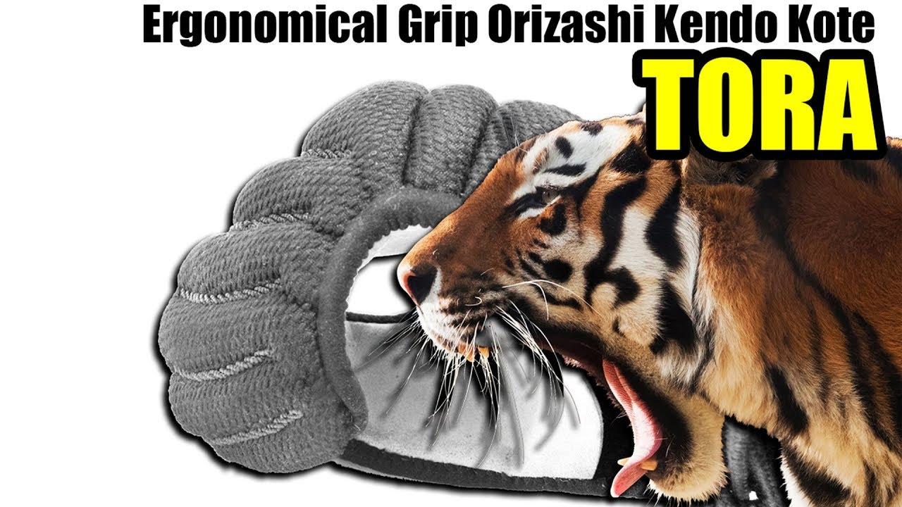 Ergonomical Grip Orizashi Kendo Kote TORA