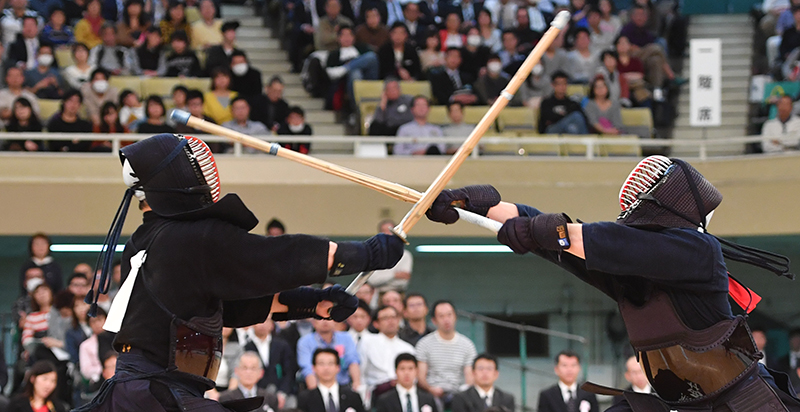 Nishimura at All Japan Kendo Championship 2017