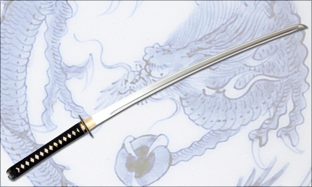 Danryu Koshirae coiled dragon motif Iaito sword