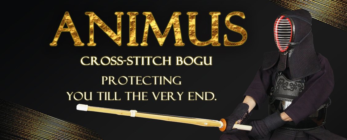 Check out our latest bogu, the Animus 8mm Cross-stitch!