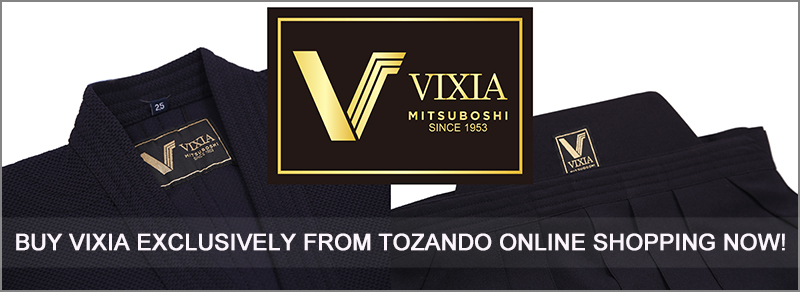 Buy VIXIA Kendo Gi and Hakama now exclusively from Tozando!