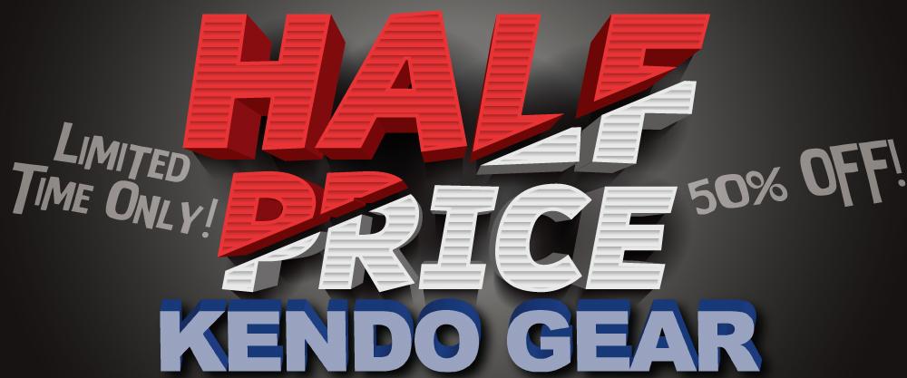 Half Price Kendo Gear