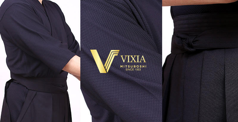 Vixia Kendo uniforms: Lightweight, Quick drying, Stands out and durable