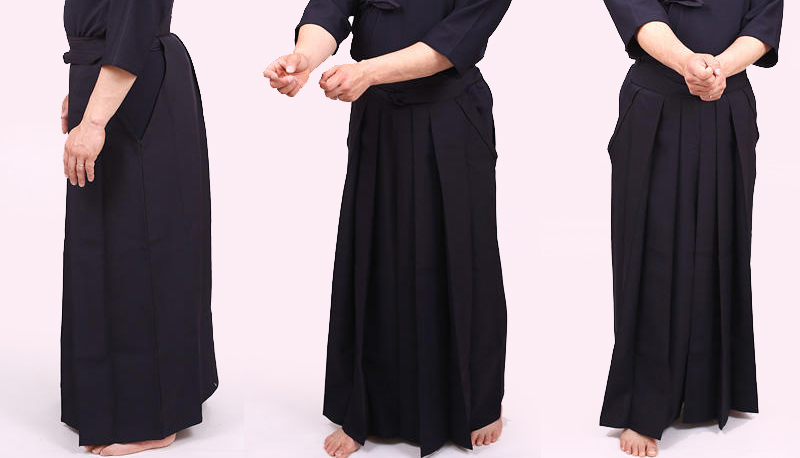 Wearing VIXIA Kendo Uniform