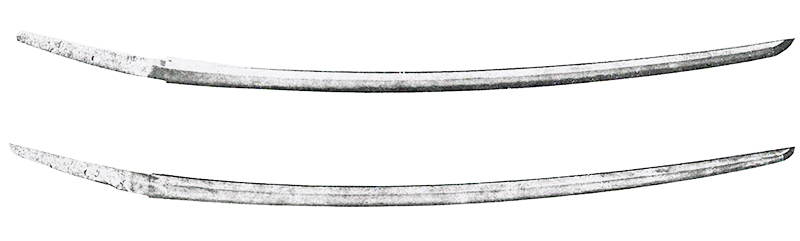 Illustration of Tachi sword