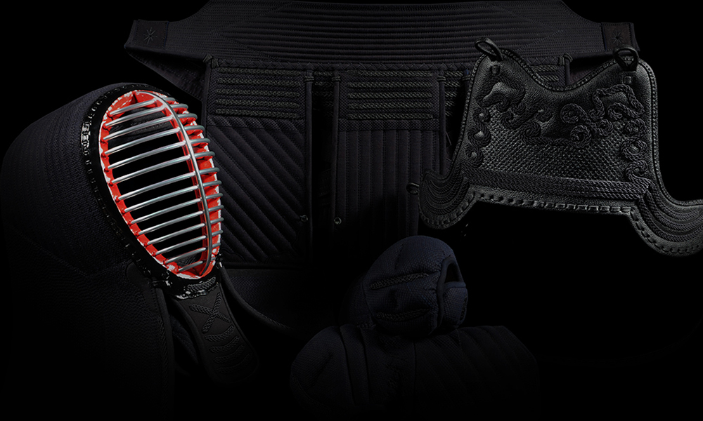 Patented protection, found nowhere else: Shudo Tornado-sttich Kendo Bogu