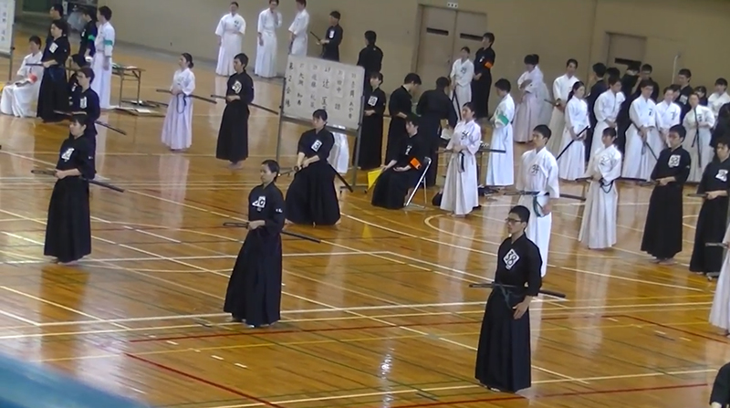 Snapshot of West Japan Student Iaido Taikai