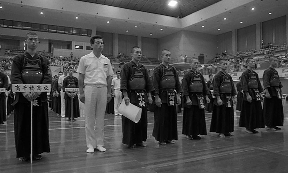 Takachiho High School Kendo Club at Gyokuryuki Taikai