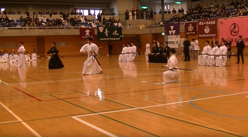 The All Nippon Student Iaido Taikai