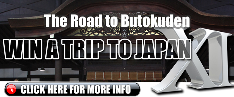 The Road to Butokuden 2018 - Win A Trip to Japan XI