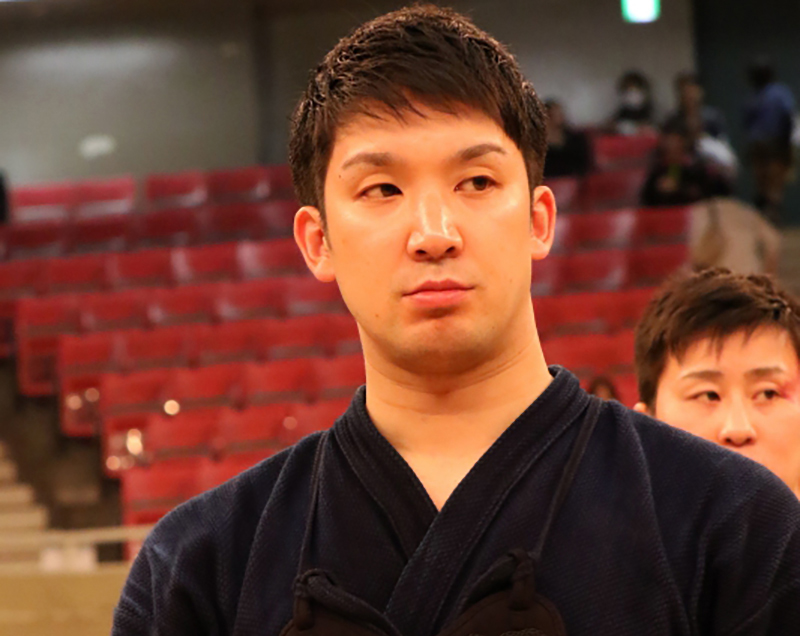 Ando Sho at the 66th All Japan Kendo championship