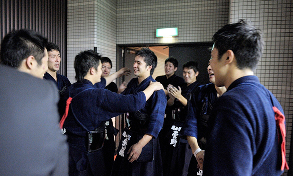 Kokushikan University won All Japan University Kendo Championship 2012