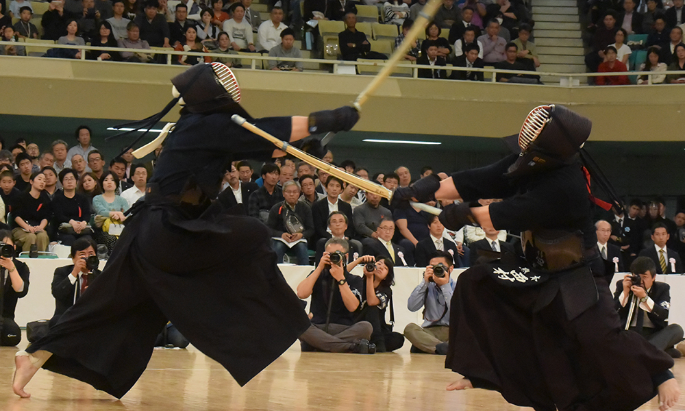 Nishimura vs Ando at 2018 All Japan Kendo Championship