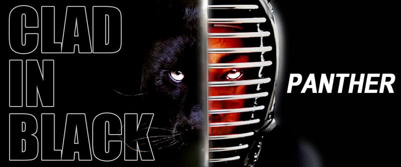 Clad in black - Panther - Black Kendo Bogu set