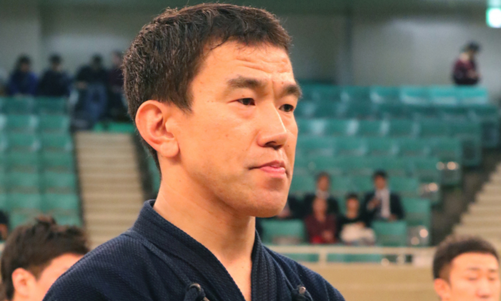 Uchimura at 2018 All Japan Kendo Championship