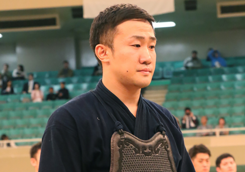 Kunimoto Rentaro at the 66th All Japan Kendo Championship