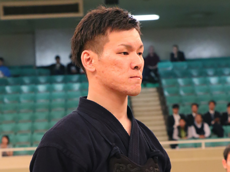 Maeda Koki at the 66th All Japan Kendo Championship