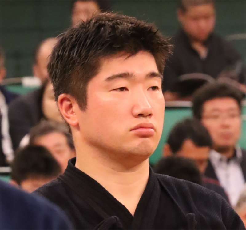 Hirano Shinichiro from Saitama for the 66th All Japan Kendo championship Taikai