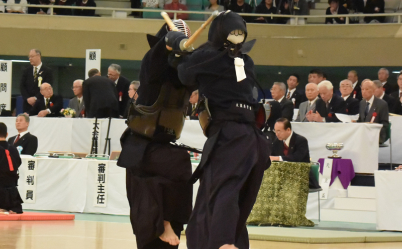 Iwakiri at the 66th All Japan Kendo Championship Taikai