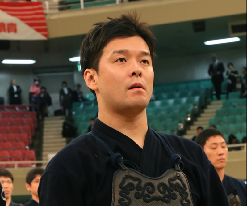 Katsumi Yosuke at the 66th All Japan Kendo championship Taikai