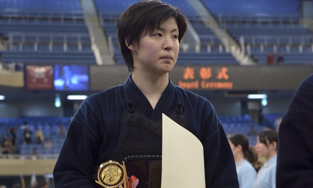 Mizuki Matsumoto at the Kendo World Championship in 2015
