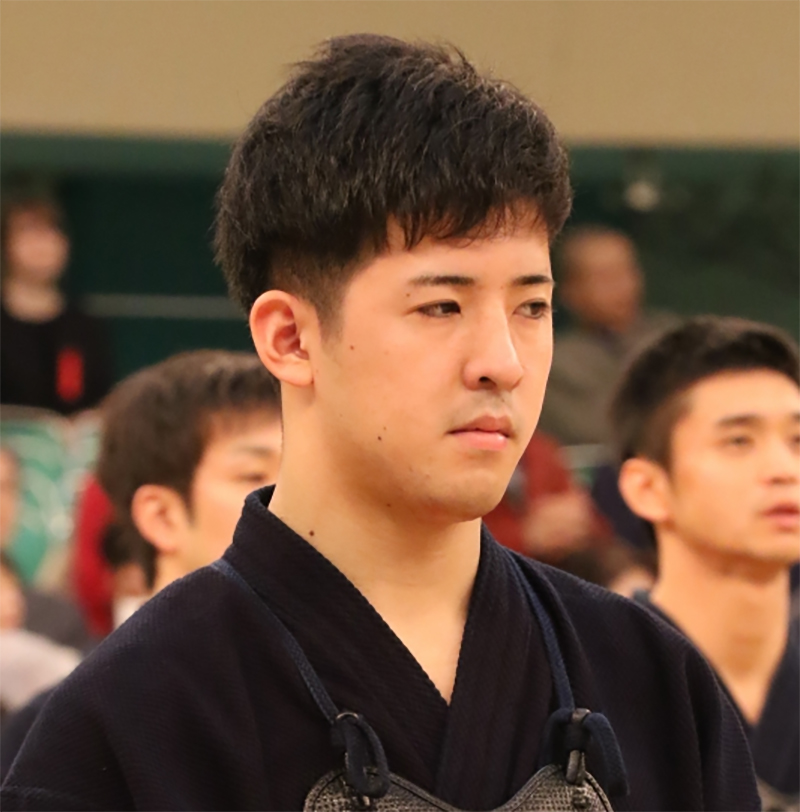 Matsuzaki Kenshiro from Ibaraki for the 66th All Japan Kendo championship Taikai