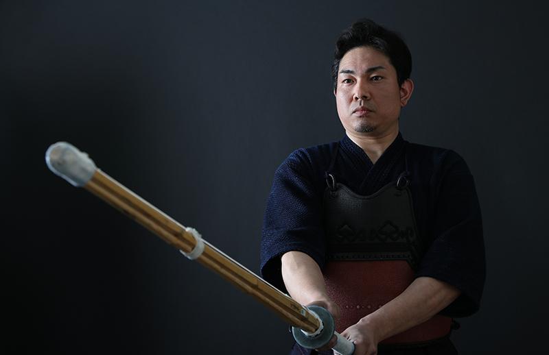 Kendo Kyoshi Hayashi Takahiro 7-dan's Kamae