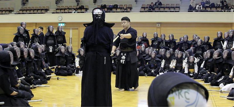 Kendo lesson by Kendo champion, Nishimura Hidehisa at 2019 Tozando Renseikai