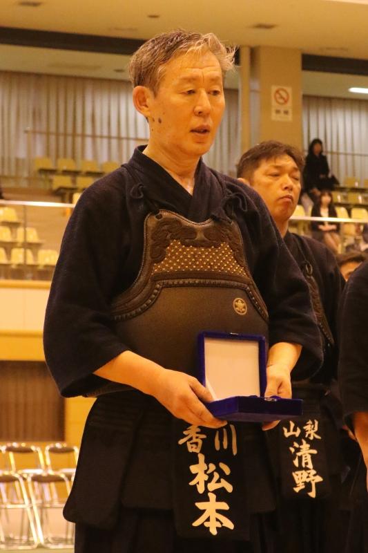 Matsumoto Sensei, 8-dan, Kagawa